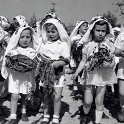 Historic Photos Of First Fruits Festival In Israel To Commemorate Shavuot